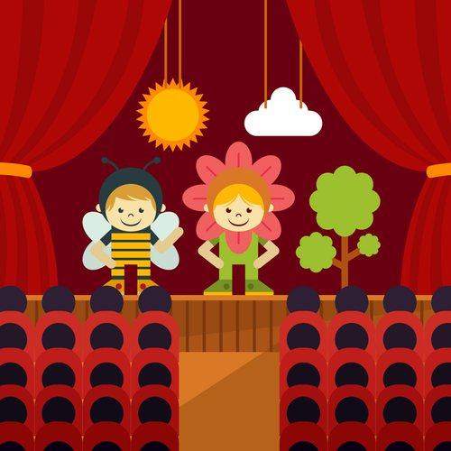 Plakat na Dzień teatru A4 i XXL 5 Dzień Teatru Plakaty (Dzień Teatru)
