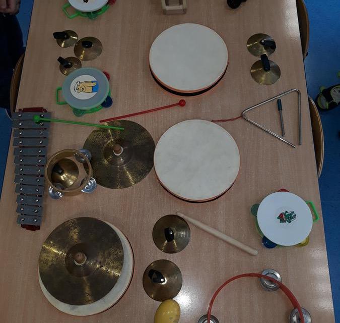 Poznawanie instrumentów muzycznych