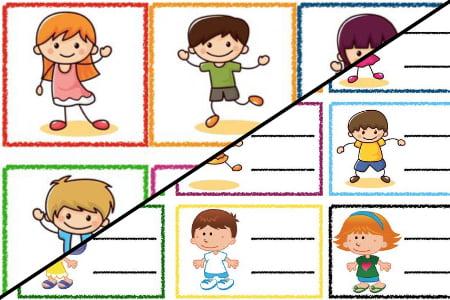 Znaczki przedszkolne – Dzieci