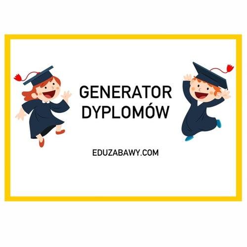 Generator dyplomów dla dziewczynek Generatory dyplomów Generatory online