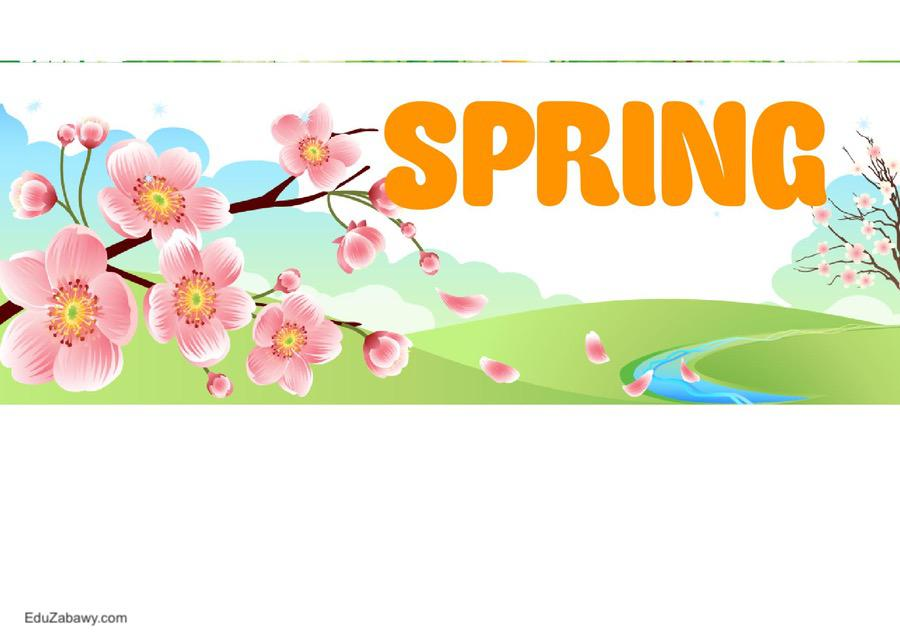 Pory roku – plakaty poziome (wersja angielska) Jesień Pory roku - plakaty Święta i pory roku Wrzesień