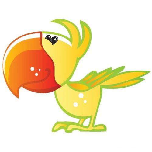 Ptaszki na gałęzi Aneta Grądzka-Rudziak Prace plastyczne Prace plastyczne (Na wsi) Prace plastyczne (Światowy Dzień Zwierząt) Zwierzęta (Prace plastyczne)