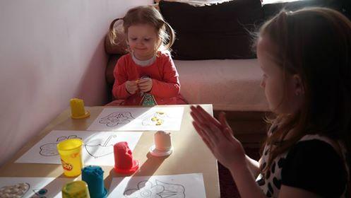 Kropkowe obrazki Aneta Grądzka-Rudziak Kreatywnie z dzieckiem