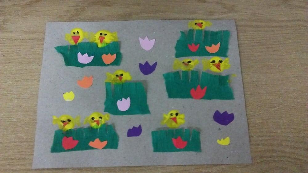 Kurczaczki Izabela Kowalska Prace plastyczne Prace plastyczne (Na wsi) Prace plastyczne (Wielkanoc)
