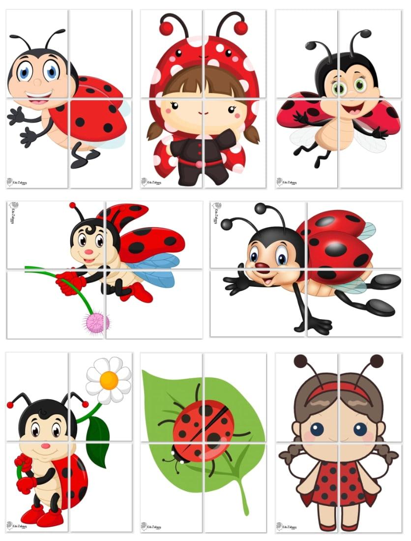 Dekoracje XXL: Biedronki (8 szablonów) Dekoracje Dekoracje XXL (Pożegnanie przedszkola) Dekoracje XXL (Zakończenie roku)