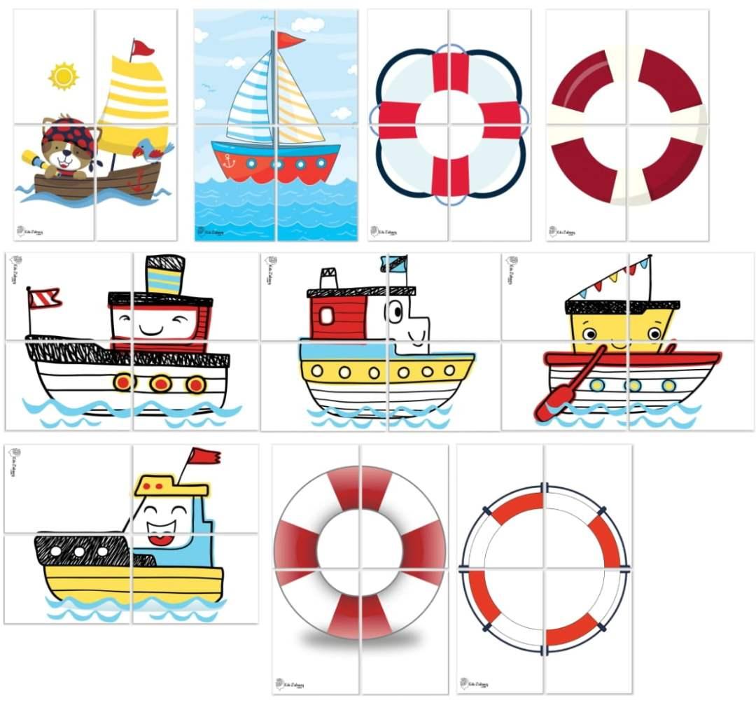 Dekoracje XXL: łódki, koła ratunkowe (10 szablonów) Dekoracje Dekoracje XXL (Pożegnanie przedszkola) Dekoracje XXL (Zakończenie roku)