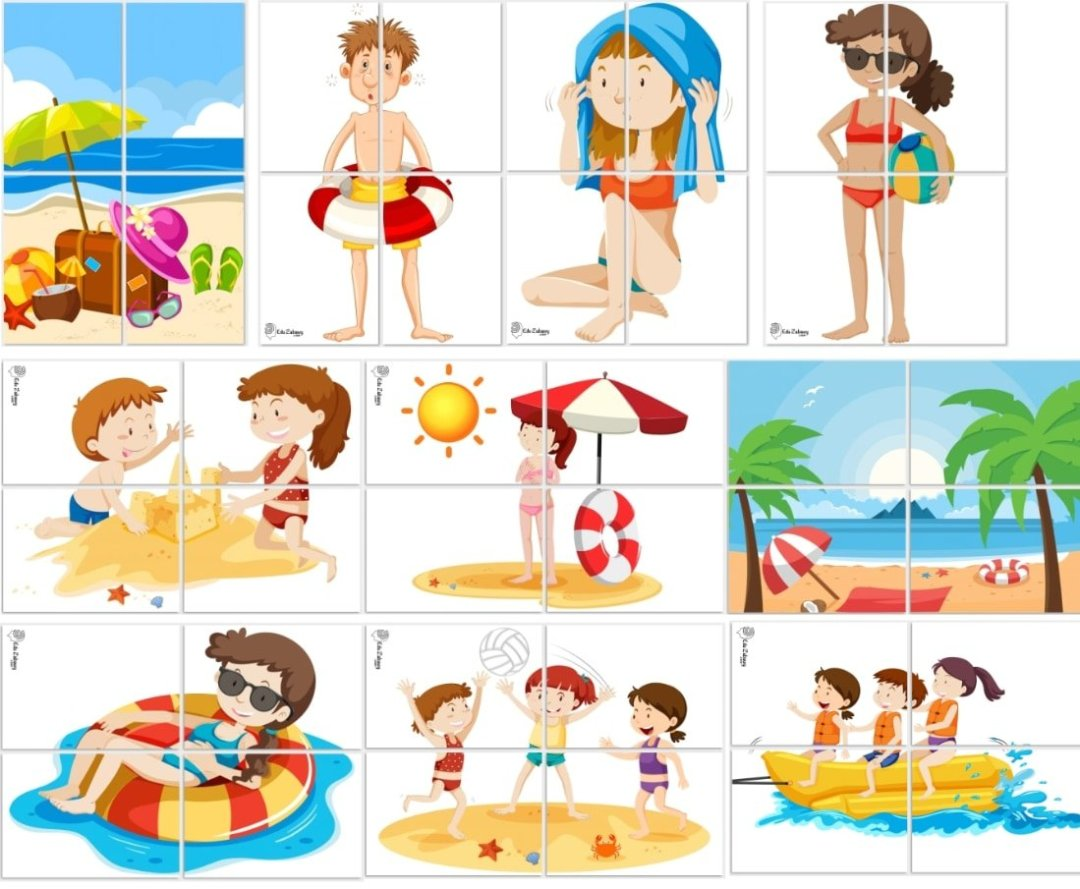 Dekoracje XXL: plaża / zabawy w piasku (10 szablonów) Dekoracje Dekoracje XXL (Pożegnanie przedszkola) Dekoracje XXL (Zakończenie roku)