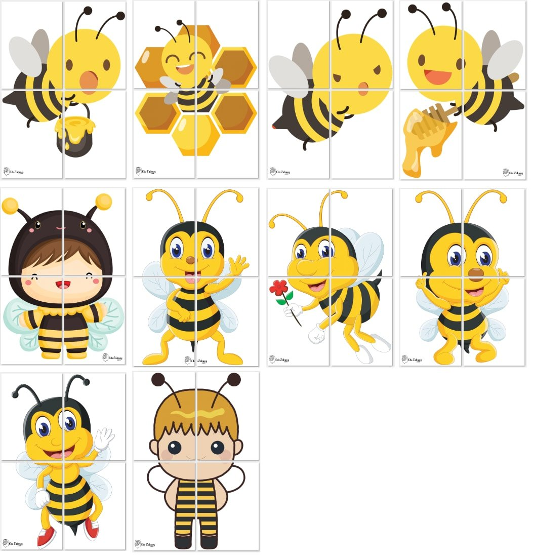 Dekoracje XXL: Pszczółki (10 szablonów) Dekoracje Dekoracje XXL (Pożegnanie przedszkola) Dekoracje XXL (Zakończenie roku)