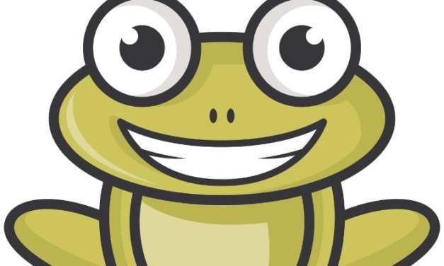 Dekoracje: żaby (10 szablonów)