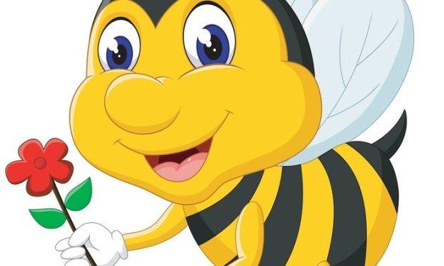 Dekoracje: pszczoły (10 szablonów)