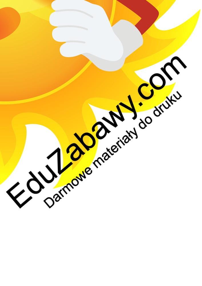 Dekoracje XXL: Słońce (10 szablonów) Dekoracje Dekoracje (Dzień Astronomii) Dekoracje (Dzień Kobiet) Dekoracje (Dzień Marchewki) Dekoracje (Dzień Przedszkolaka) Dekoracje (Dzień Wody) Dekoracje (Dzień Ziemi) Dekoracje (Jesień) Dekoracje (Pasowanie na przedszkolaka) Dekoracje (Pasowanie na ucznia) Dekoracje (Wiosna) Dekoracje XXL (Pożegnanie przedszkola) Dekoracje XXL (Zakończenie roku) Dzień Kobiet Dzień Pozytywnego Myślenia Jesień Lato Międzynarodowy Dzień Ptaków