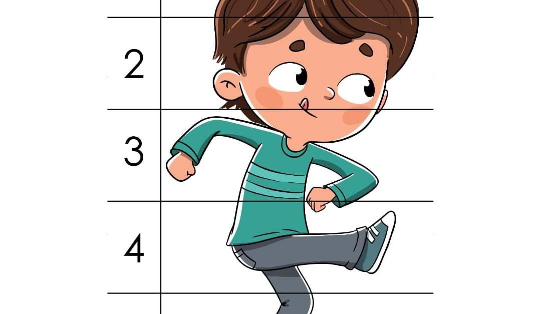 Dzień Chłopaka: Puzzle 5 elementów (10 kart pracy)