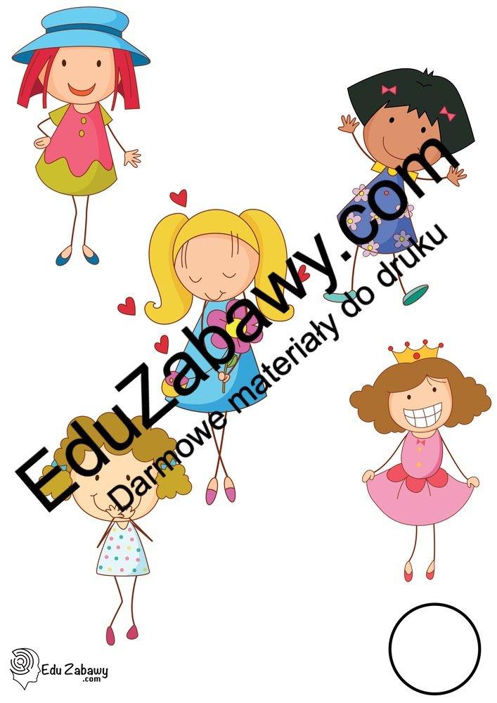 Dzień Dziewczynek: Nauka liczenia (12 kart pracy) Dzień Dziewczynek Karty pracy Karty pracy (Dzień Dziewczynek) Nauka liczenia