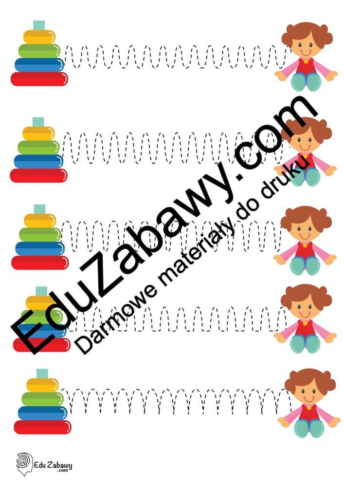 Dzień Dziewczynek: Szlaczki (10 kart pracy) Dzień Dziewczynek Karty pracy Karty pracy (Dzień Dziewczynek) Szlaczki