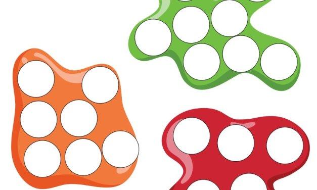 Dzień Kredki: Wypełnij kolorem (10 kart pracy)