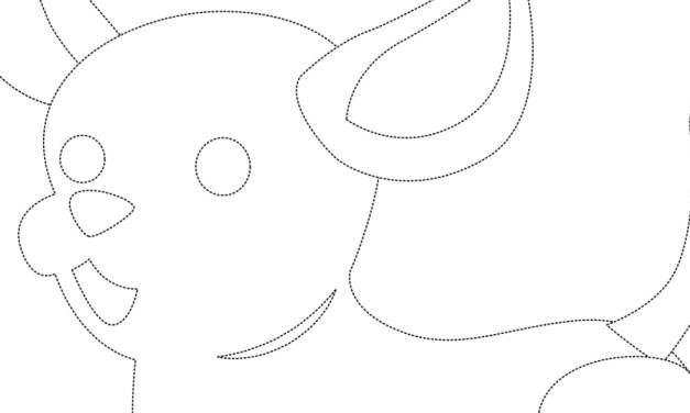 Dzień Kundelka: Grafomotoryka (10 kart pracy)