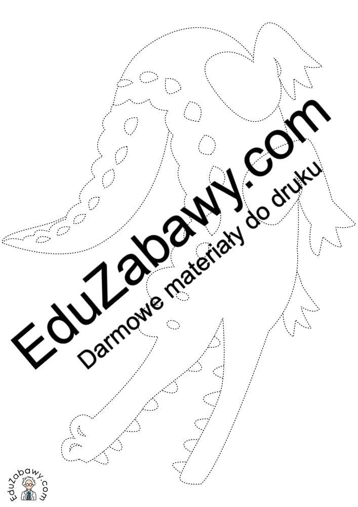 Dzień Zwierząt: Grafomotoryka (10 kart pracy) Grafomotoryka Karty pracy Karty pracy (Dzień Zwierząt) Światowy Dzień Zwierząt