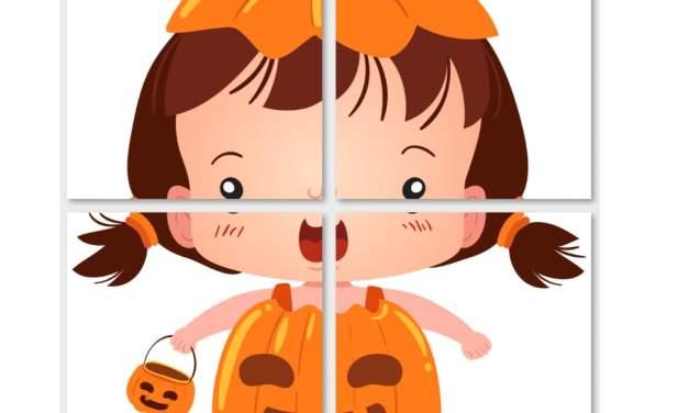 Halloween: Dekoracje XXL (10 szablonów)