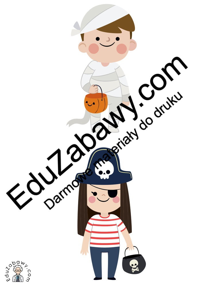 Halloween: Domino / Memory (14 kart pracy) Domino / Memory Karty pracy Karty pracy (Halloween / Święto dyni) Święto Dyni / Halloween