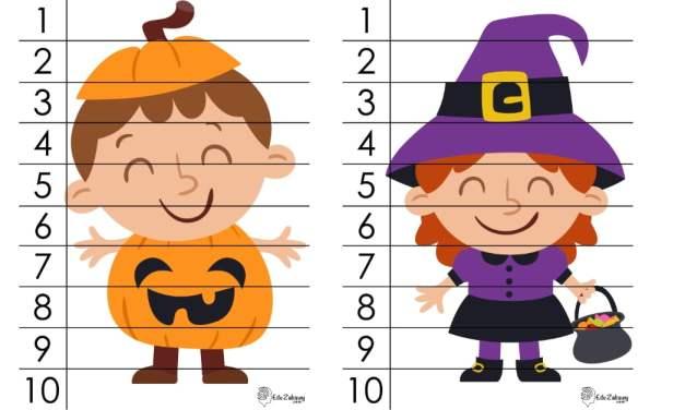 Halloween: Puzzle 10 elementów