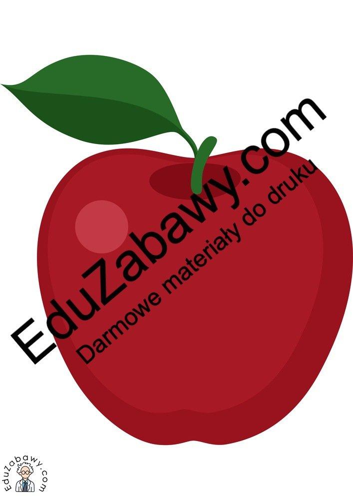 Dekoracje: Jabłka (10 szablonów) Dekoracje Dekoracje (Jesień) Dekoracje (Lato)