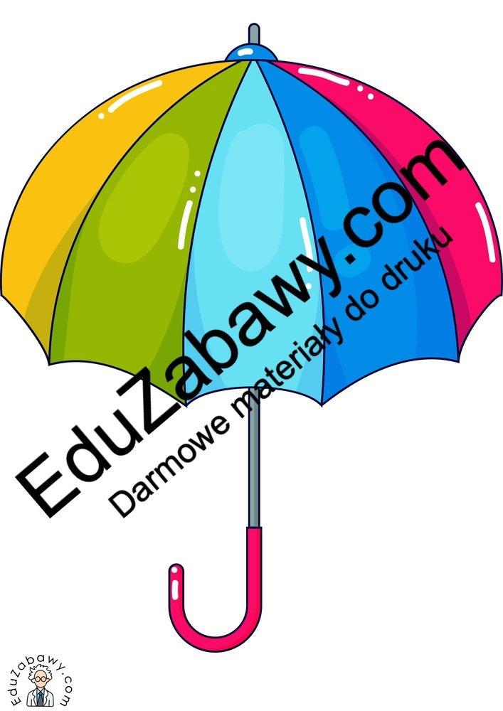 Dekoracje: Parasolki (12 szablonów) Dekoracje Dekoracje (Jesień) Dekoracje (Wiosna)