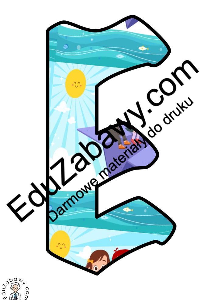 Napis Dzień Przedszkolaka: wzór ze słońcem Dzień Przedszkolaka Napisy (Dzień Przedszkolaka)
