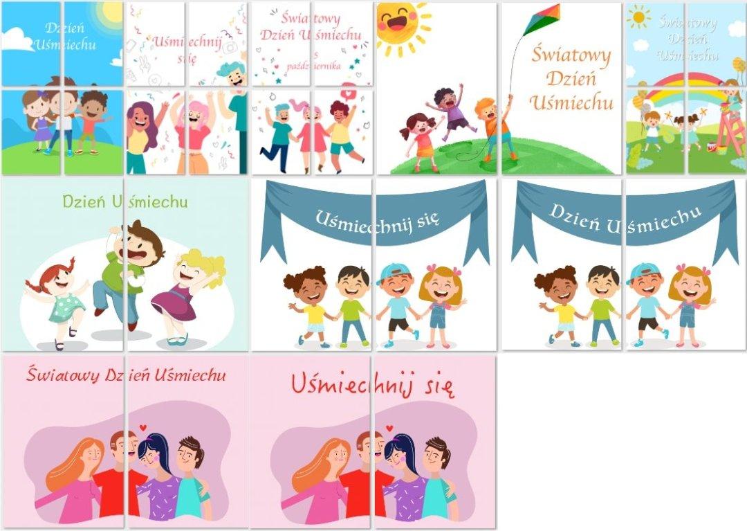 Dzień Uśmiechu: Plakaty XXL Dzień Uśmiechu