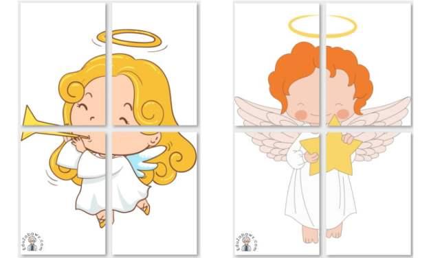 Dekoracje XXL: Aniołki