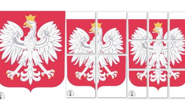 Dekoracje: Godło (A4 i XXL)
