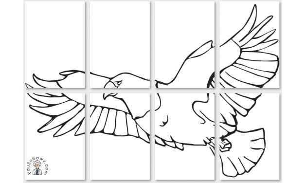 Dekoracje XXL: Orzeł