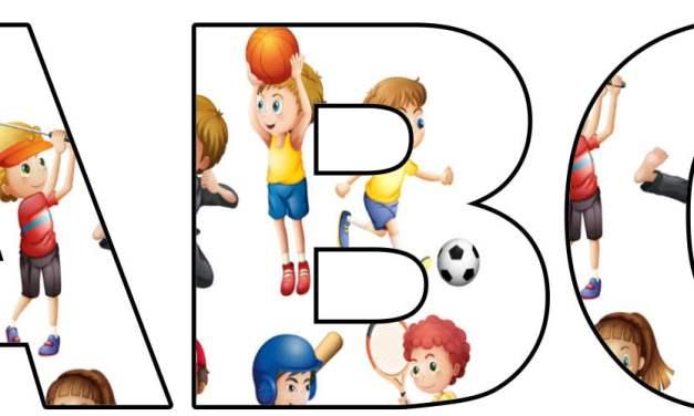 Dyscypliny sportowe: litery duże