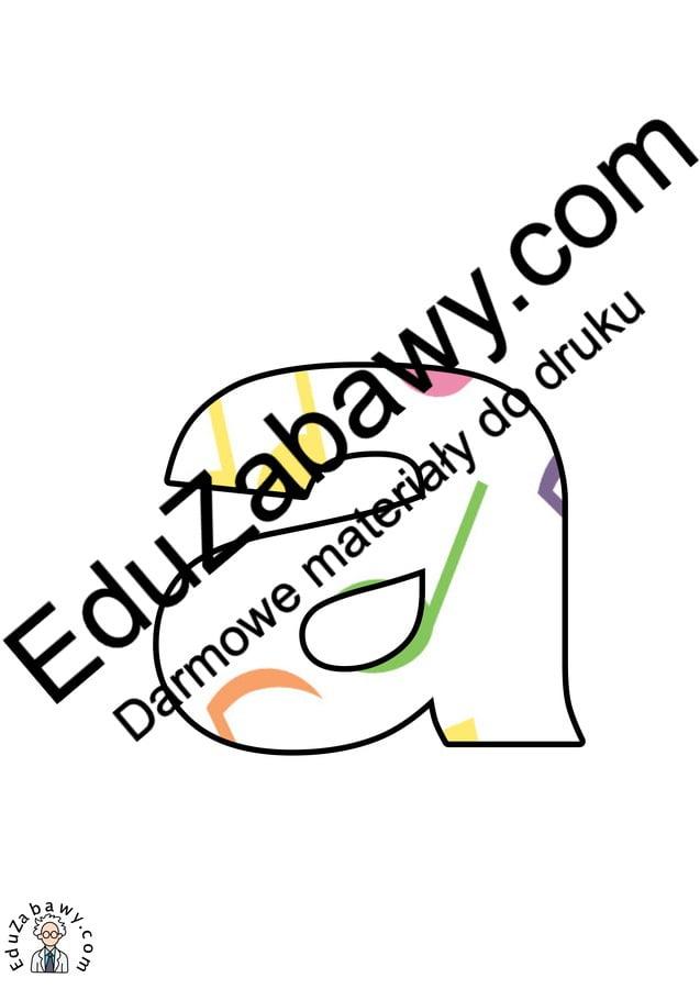 Kolorowe nutki: Litery małe Litery i cyfry do tworzenia napisów Muzyka (litery i cyfry)