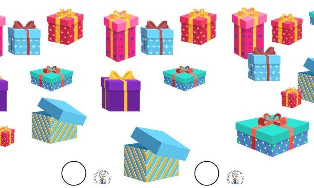 Boże Narodzenie: Nauka liczenia (10 szablonów)
