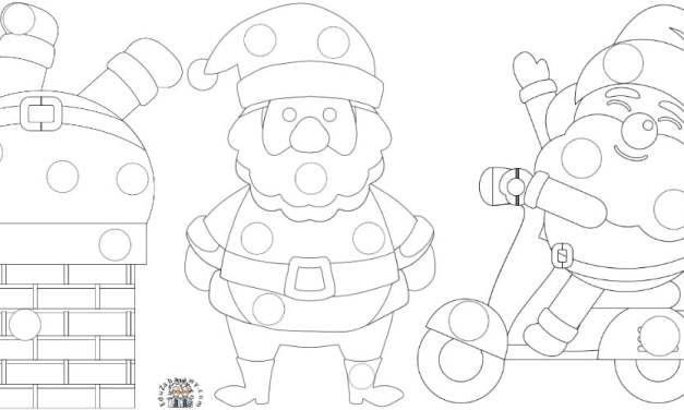 Boże Narodzenie: Wyklejanki (10 szablonów)