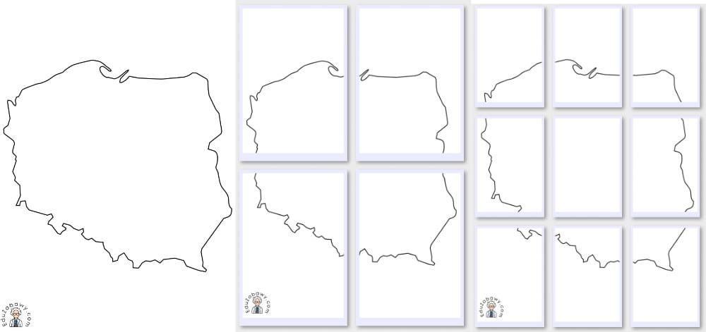 Konturowa mapa Polski Kalendarz świąt Kolorowanki (3 maja) Kolorowanki (Święto Niepodległości) Listopad Święto Niepodległości
