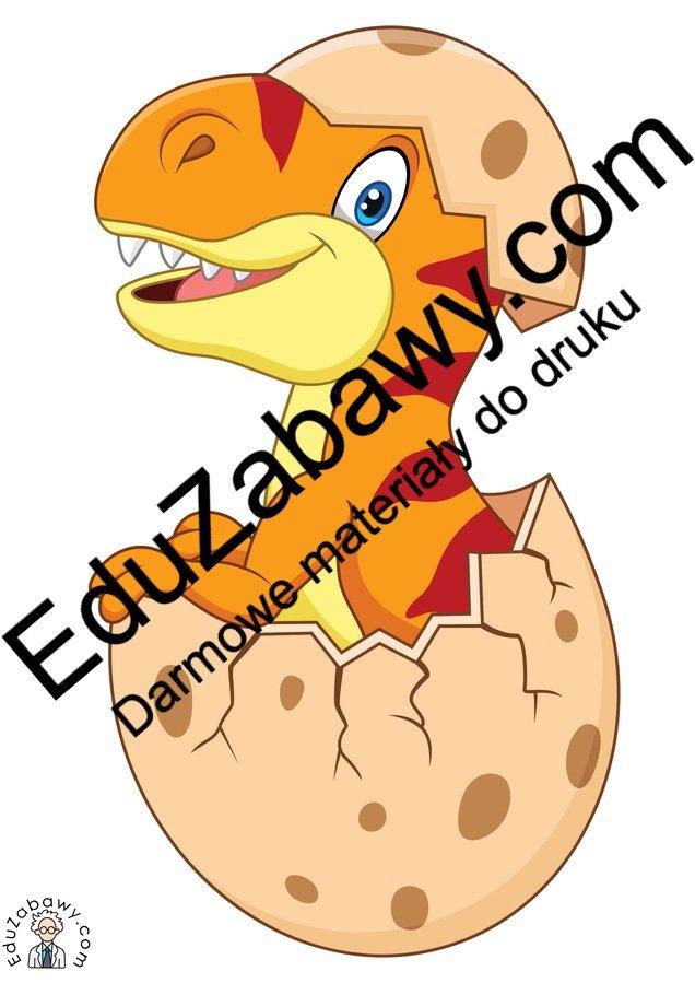 Dekoracje: Jajo dinozaura (10 szablonów) Dekoracje Dekoracje (Dzień Dinozaura) Dzień Dinozaura