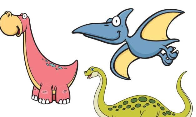 Dzień Dinozaura: Nauka liczenia (12 kart pracy)
