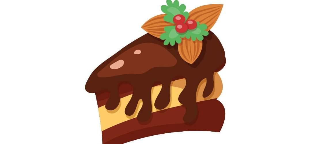 Dekoracje: Ciasta (10 szablonów)