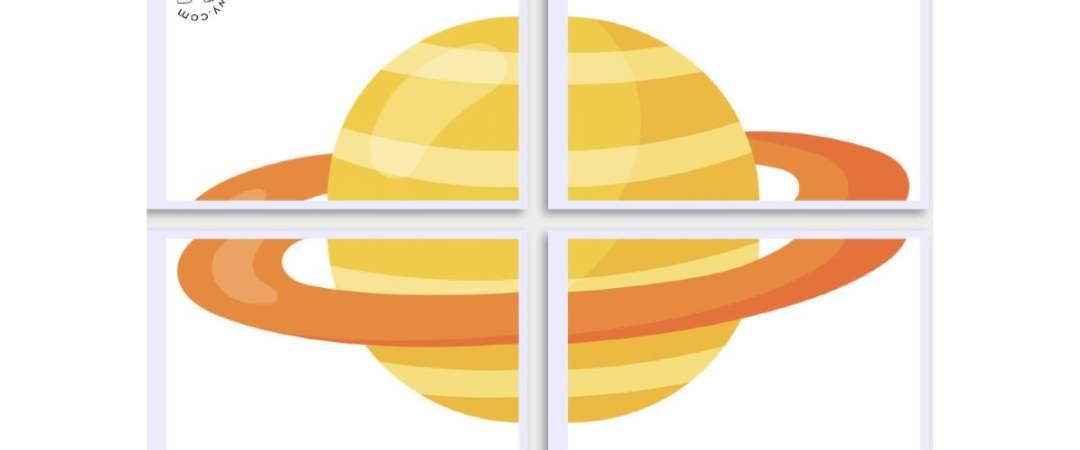 Dekoracje XXL: Planety (10 szablonów) Dekoracje Dekoracje (Dzień Astronomii) Dzień Astronomii