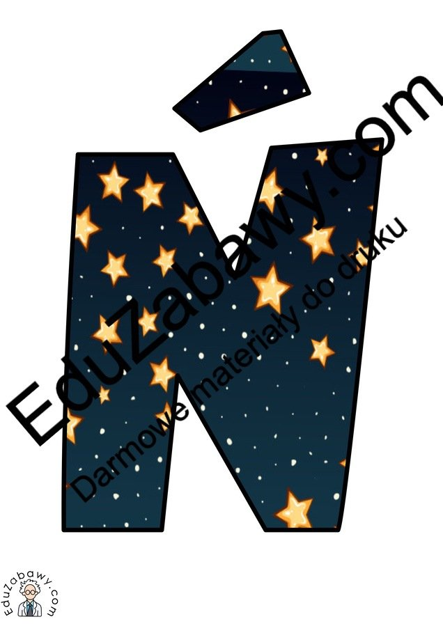 Napis Dzień Kosmosu - Gwiazdy Dzień Astronomii Napisy (Dzień Astronomii)