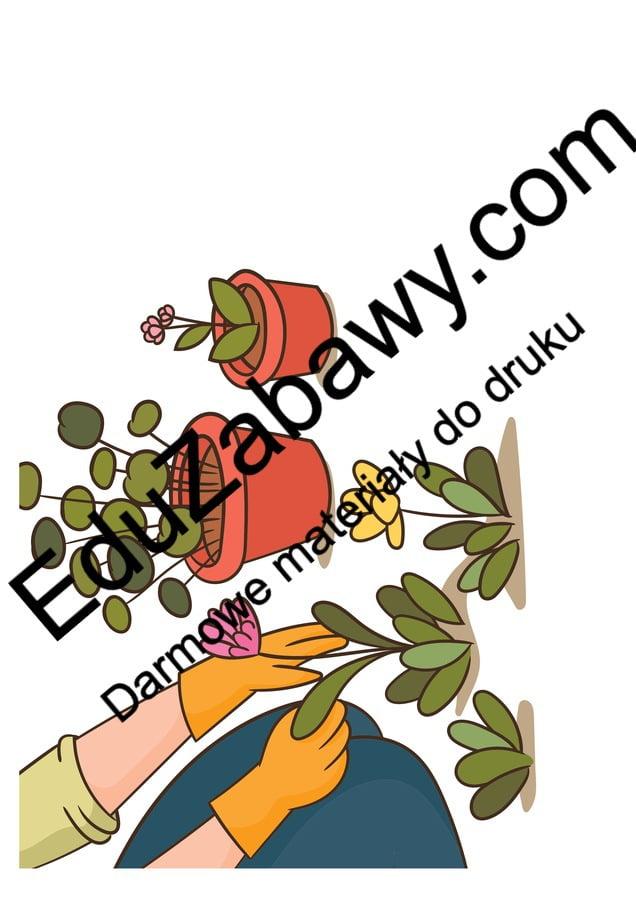 Dekoracje XXL: prace w ogrodzie (10 szablonów) Dekoracje Dekoracje (Dzień Drzewa) Dekoracje (Lato) Dekoracje (Wiosna) Wiosna