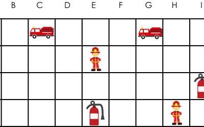 Strażak: Kodowanie – Statki (10 kart pracy)