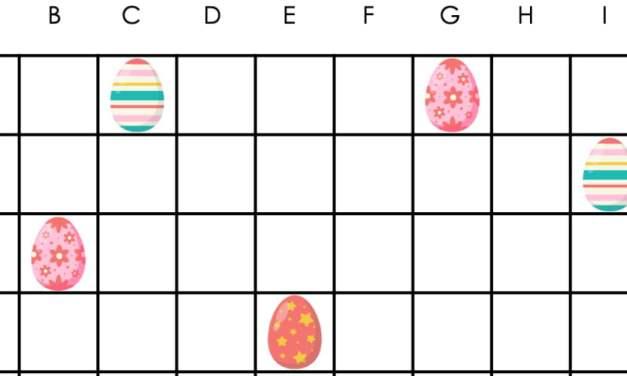 Wielkanoc: Kodowanie – Statki (10 szablonów)