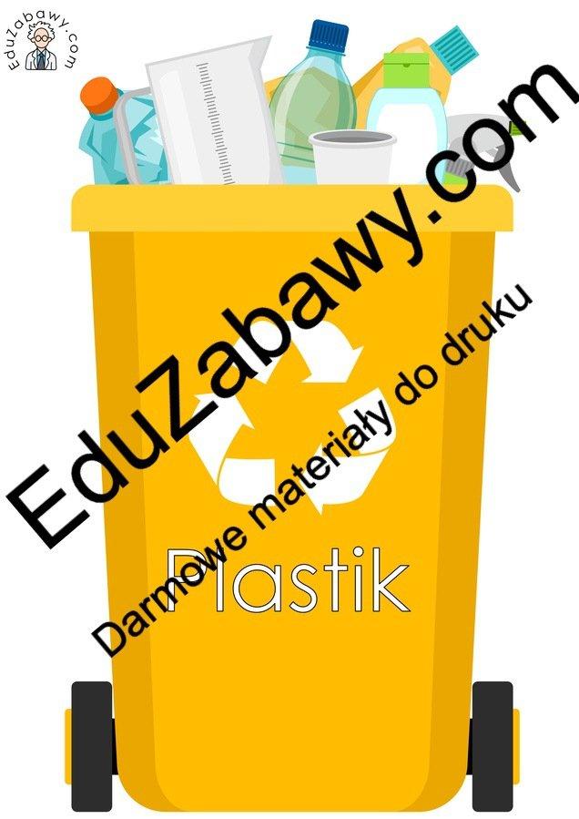 Dekoracje: Sortowanie śmieci (10 szablonów) Dekoracje Dekoracje (Dzień Ziemi) Dzień Ziemi