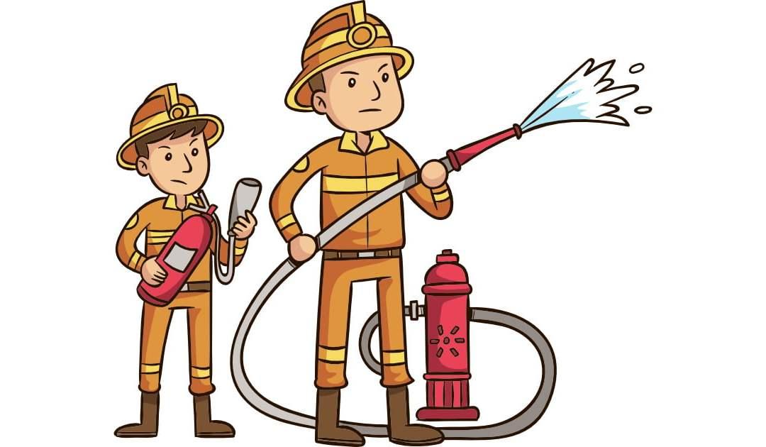 Dekoracje: Strażak (10 szablonów)