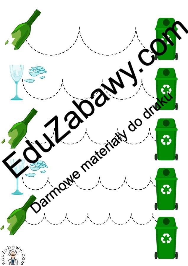 Dzień Ziemi: Szlaczki (10 kart pracy) Dzień Ziemi Karty pracy Karty pracy (Dzień Ziemi) Szlaczki