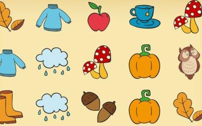 Gra online: Memory – Jesień