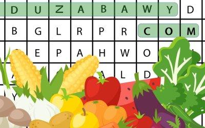 Wykreślanka online: Warzywa