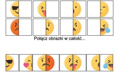 Gra online: Połącz obrazki: Emocje